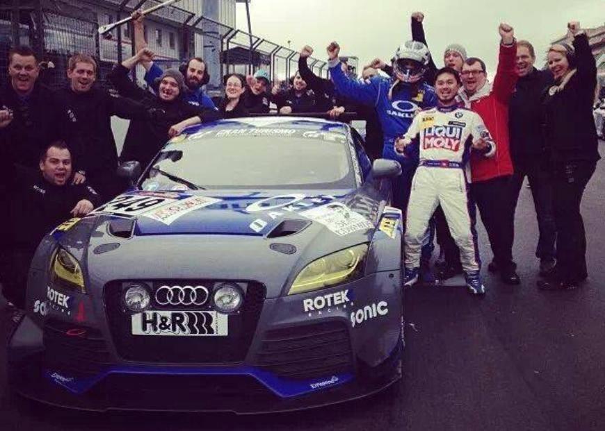 Rotec Racing Audi TT RS