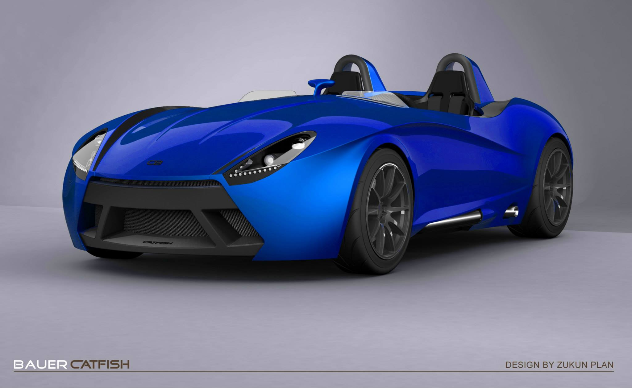 blue render