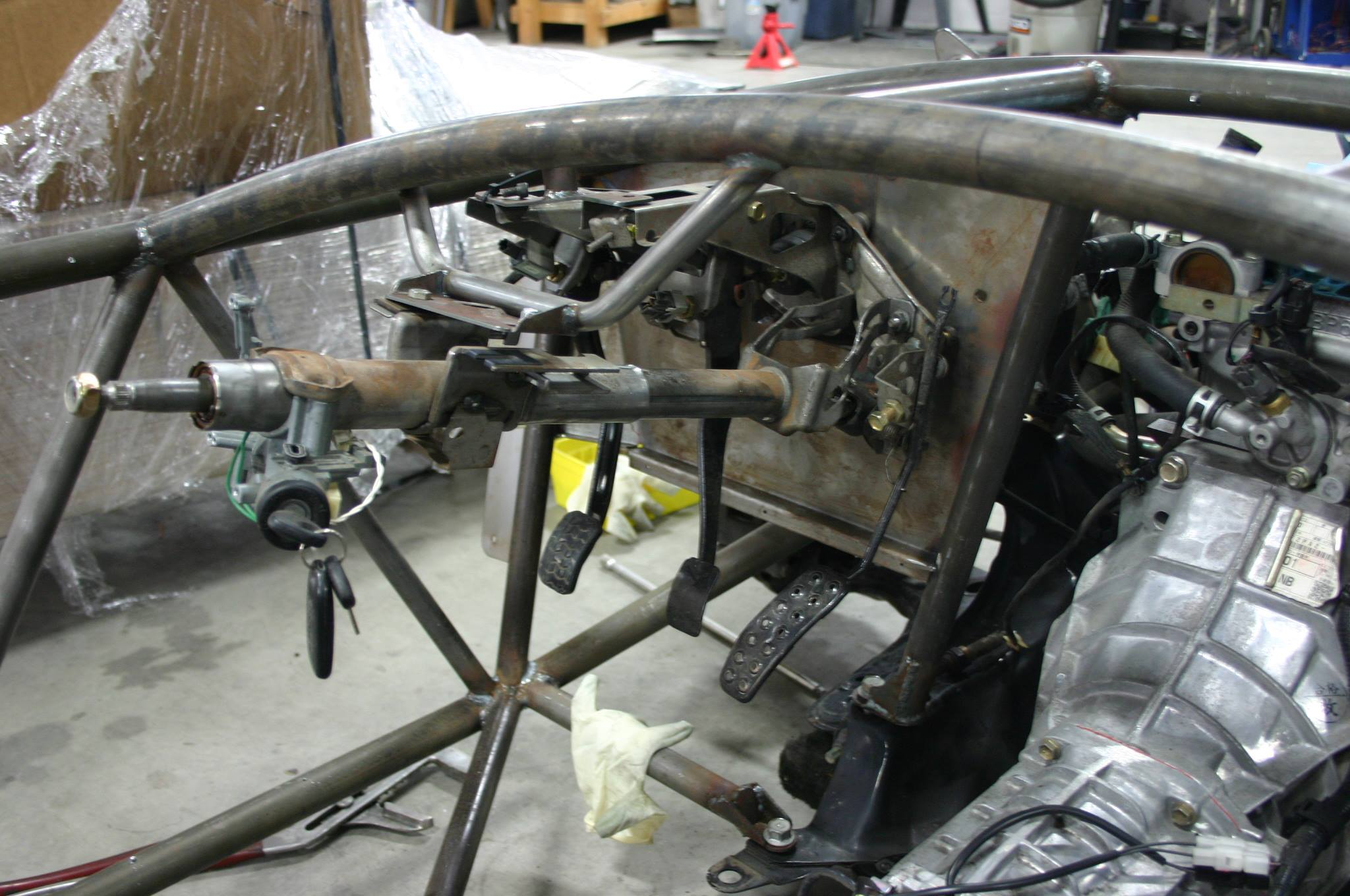 steering in place