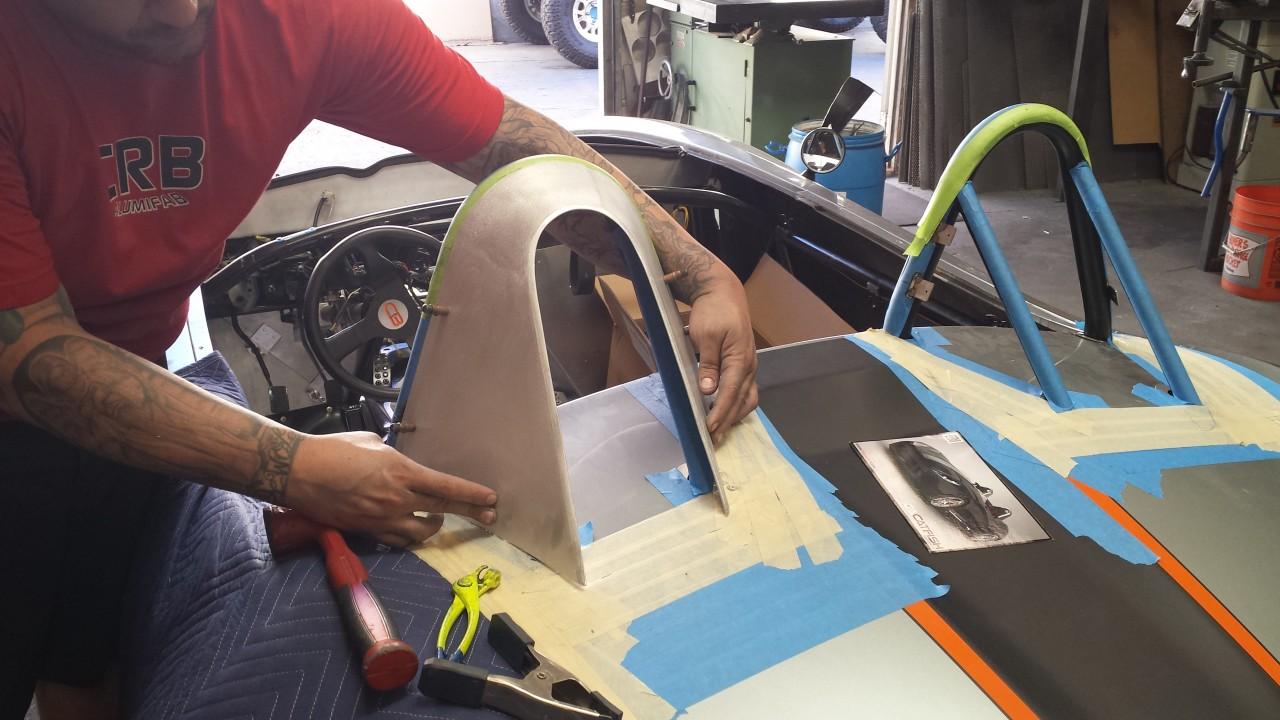 Create in aluminum, adding a subtle rear radius