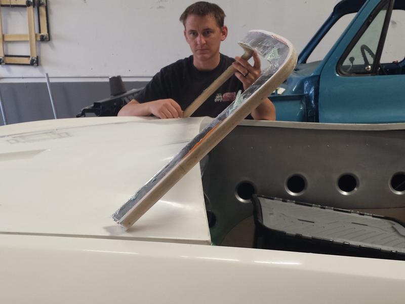 Measure width, height and rake