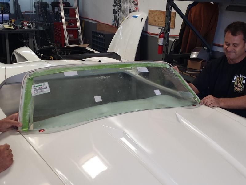 Make a test windscreen